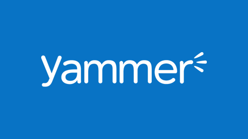 Yammer Logo | Yammer | TechGyan - Cloud Changes Everything