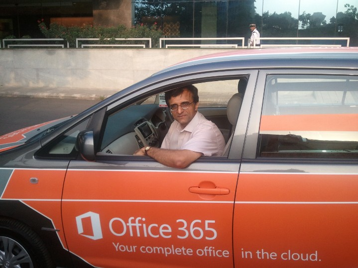 Mr. Suresh Ramani - Office 365 Car | TechGyan - Cloud Changes Everything